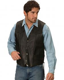 Interstate Leather Motorcycle Leather Vest