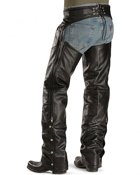 Interstate Leather Motorcycle Chaps