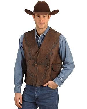 Kobler Antiqued Leather Vest