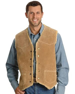 Scully Boar Suede Leather Vest
