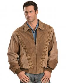 Scully Boar Suede Leather Arena Jacket