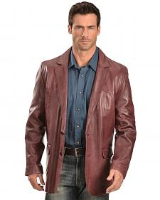 Scully Lamb Leather Blazer - Reg & Tall