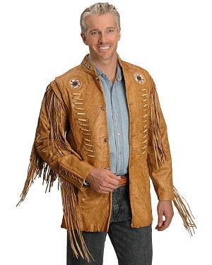 Kobler Zapata Fringed Leather Jacket