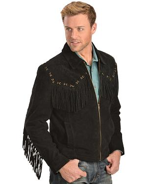 Scully Boar Suede Fringe Jacket