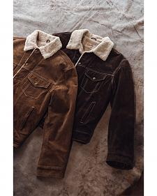 Scully Sherpa Lined Boar Suede Jacket