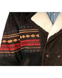 Aztec Border Leather Jacket at Sheplers