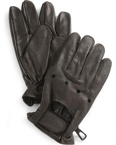 Interstate Leather Unlined Driving Gloves