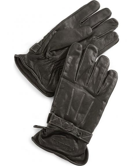 Milwaukee Motorcycle Leather Riding Gloves