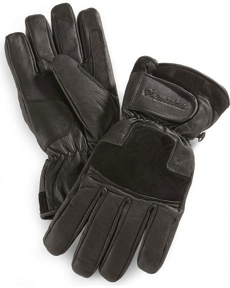 Milwaukee Motorcycle Insulated Leather Riding Gloves