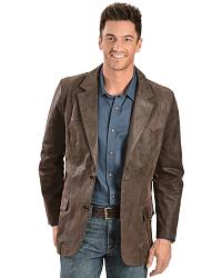 Oakridge Western Leather Blazer at Sheplers