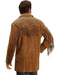Cripple Creek Suede Leather Fringe Blazer at Sheplers
