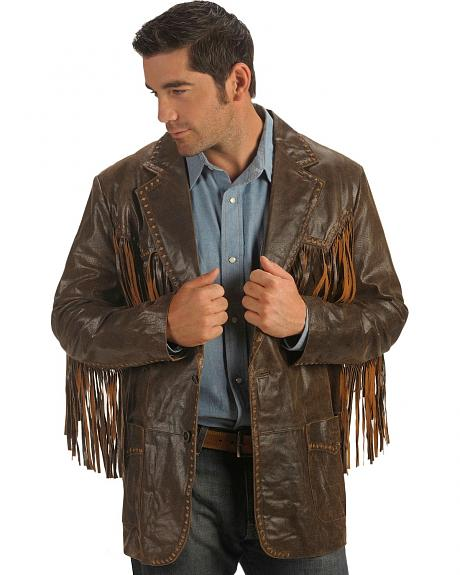 Cripple Creek Two-Tone Fringe Jacket
