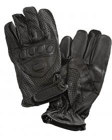 Interstate Leather Driving Gloves w/ Wrist Closure