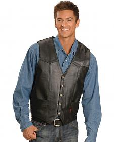 Interstate Leather Men's Classic Vest