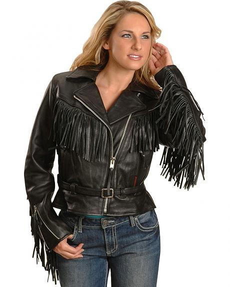 Interstate Leather Fringe Jacket