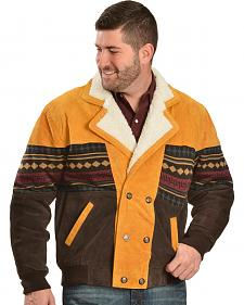 Red Ranch Aztec Border Jacket