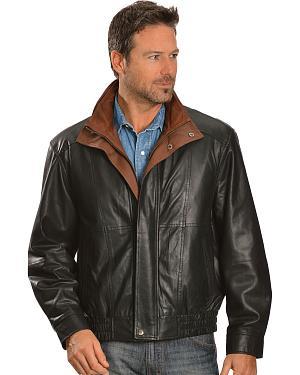 Scully Double Collar Leather Jacket