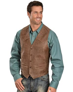 Scully Western Lamb Vest