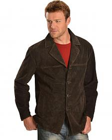 Scully Suede Leather Coat