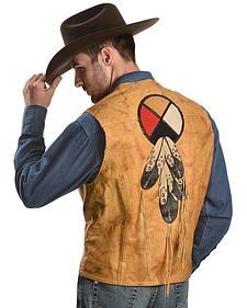 Kobler Circle of Life Leather Vest