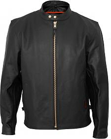 Interstate Leather Vented Touring Jacket - Big & Tall