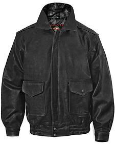 Milwaukee Motorcycle Bomber Leather Jacket - XL
