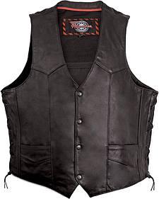 Milwaukee Motorcycle Classic Leather Vest