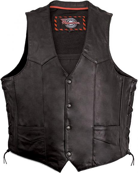 Milwaukee Motorcycle Classic Leather Vest - XL