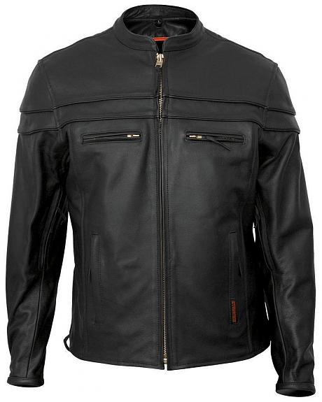Interstate Leather Scooter Jacket - XL