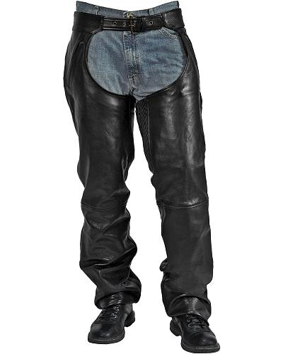 Milwaukee Motorcycle Leather Ranger Chaps Big & Tall Western & Country M10114 BIGS
