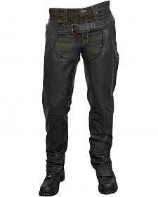 Milwaukee Motorcycle Leather Unisex Chaps - Big & Tall
