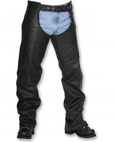 Interstate Leather Unisex Chaps - XL