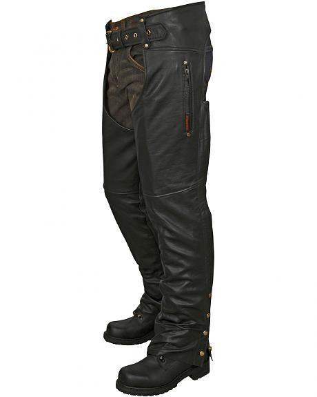 Interstate Leather Unisex Lined Chaps