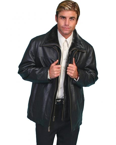 Scully Zip-Out Lining Lambskin Jacket