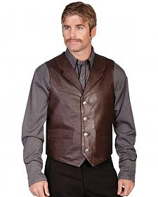 Scully Lambskin Lapel Vest