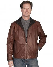 Scully Premium Lambskin Zip Front Jacket