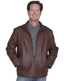 Scully Premium Lambskin Zip Front Jacket