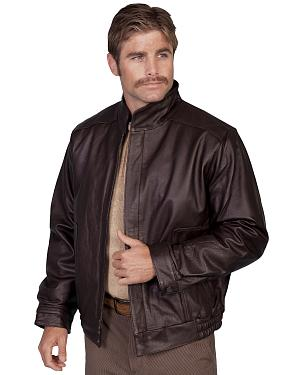 Scully Top Grain Calfskin Leather Jacket