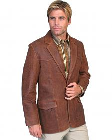 Scully Lamb Leather Blazer