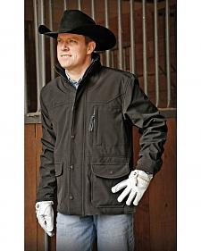 STS Ranchwear Men's Brazos Black Barn Jacket