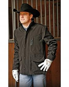 STS Ranchwear Men's Brazos Black Jacket - Big & Tall - 4XL