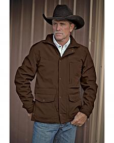 STS Ranchwear Men's Brazos Brown Jacket - Big & Tall - 4XL