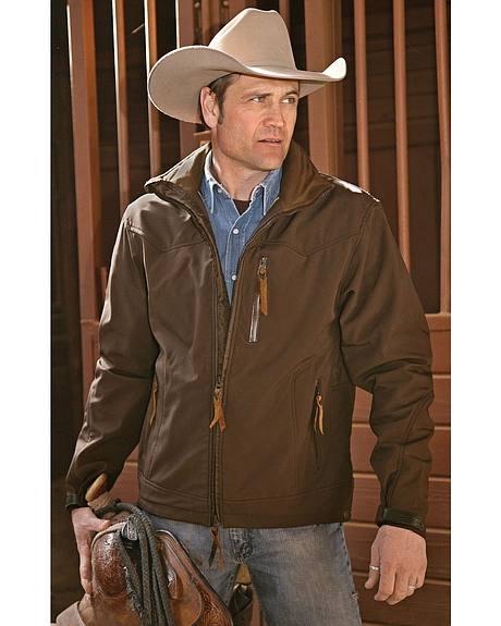 STS Ranchwear Men's Young Gun Brown Jacket