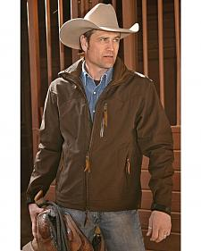 STS Ranchwear Men's Young Gun Brown Jacket - Big & Tall - 4XL