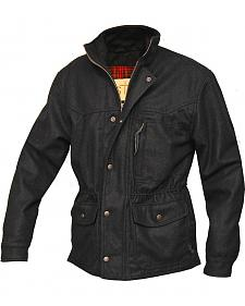 STS Ranchwear Men's Smitty Black Barn Jacket - Big & Tall - 2XL-3XL