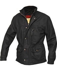 STS Ranchwear Men's Smitty Black Barn Jacket - Big & Tall - 4XL