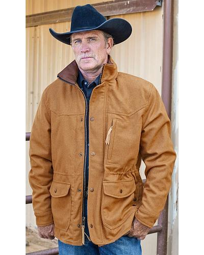 STS Ranchwear Mens Smitty Camel Barn Jacket Big & Tall 2XL-3XL Western & Country STS8143X