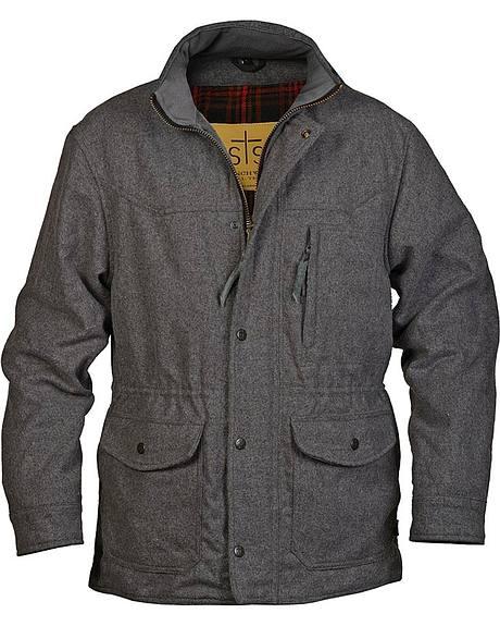 STS Ranchwear Men's Smitty Grey Barn Jacket - Big & Tall - 2XL-3XL
