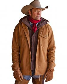 STS Ranchwear Men's Clifton Camel Wool Jacket