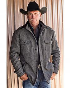 STS Ranchwear Men's Clifton Grey Wool Jacket